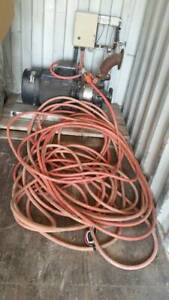 30kW irrigation pump comes with 57m of 5 pin 3 phase cable.