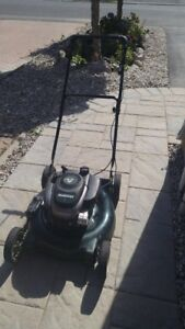 Master craft 6.0 hp gas lawnmower