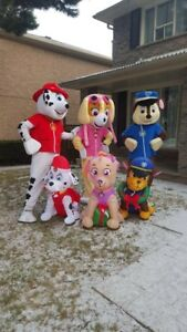 Invite Paw Patrol Mascots for Party
