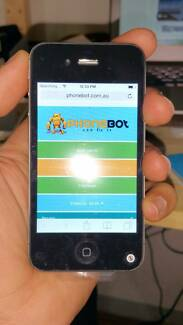 Apple iPhone 4s 16GB Black Refurbs - 30 days warranty- With Inv Reservoir Darebin Area Preview