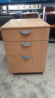 LIGHT PEDESTAL drawers storage filing office work home study