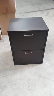 TWO DRAWER FILING CABINET drawer pedestal storage office work