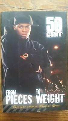 """50 Cent Hardcover """"From Pieces To Weigh"""" Memoir + One 50 Cent $50 Bill"""