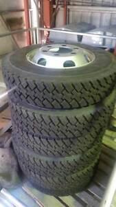 Isuzu NPS300 4x4 NPR truck wheels and tyres Molendinar Gold Coast City Preview