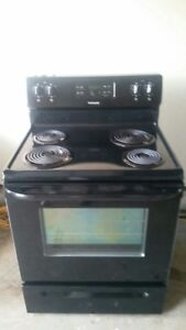 Black Frigidaire Stove, free delivery