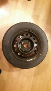 Bridgestone Blizzak 195/65R15 (winter tires)