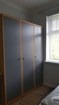 wooden wardrobe used