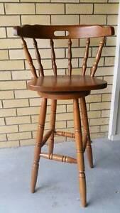 Timber bar stools - set of 4 Kedron Brisbane North East Preview