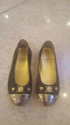 young versace kids shoes size eu24 uk7