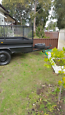 Trailer with ramp for hire 8 by 5ft Granville Parramatta Area image 2