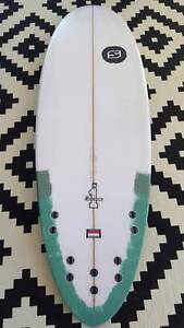 As new hybrid surfboard 5'4 copy of Hayden Shapes Hypto Krypto Mascot Rockdale Area Preview