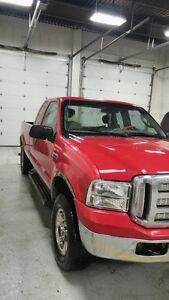 2007 ford F250   4 x 4
