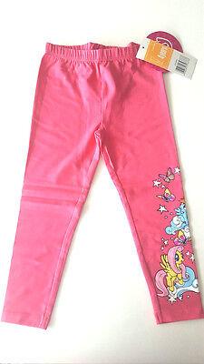 New Children Girl Leggings Pants My Little Pony Pink 104 116 128 140 - My Little Pony Leggings