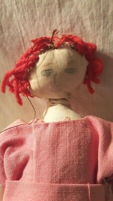 Old Handmade PUPPET Woman  AS IS