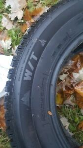 ***215/70/16 WINTER TIRES USED LESS THAN 2 MONTHS SUPER DEAL***