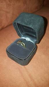 18kt Gold Tiffany & Co Infinity Ring Mount Waverley Monash Area Preview