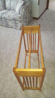 Red oak quilt rack for sale  Independence