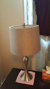 3 set lamps (2table and floor lamp)