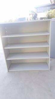 METAL SHELVING - unit shelf storage cabinet work office garage