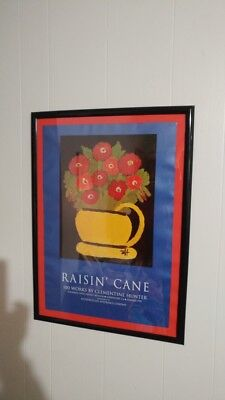 """clementine hunter, limited edition poster, """"Raising Cane"""""""