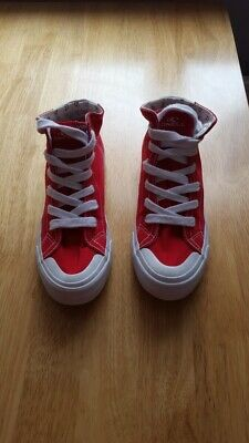 O'Neill Red High Top Trainers - UK Size 5 - Excellent Condition