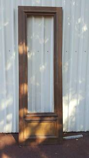 4 New unglazed Jarrah Doors & Jarrah glass panel doors.   Building Materials   Gumtree Australia ... pezcame.com