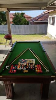 Full Size Pool Table $800
