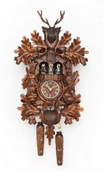 TRADITIONAL HERMLE SCHWARZWALD CUCKOO WALL CLOCK NEW