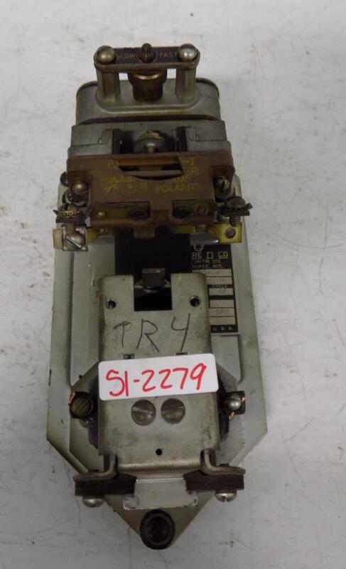 SQUARE D 110V PNEUMATIC TIMING RELAY CLASS 9050 TYPE RO-9E