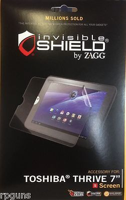 Zagg Invisible For Toshiba Thrive 7 Inch Screen Protector Free Ship Ie 501