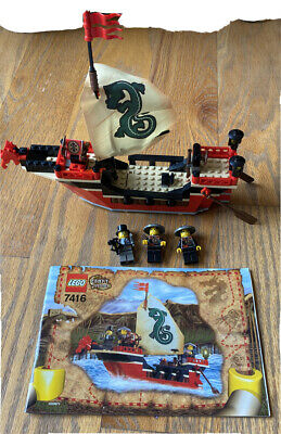 LEGO 7416 Adventurers Orient Expedition EMPEROR'S SHIP Complete 2003 NO BOX