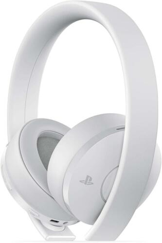Sony Gold Wireless Stereo Headset for PlayStation 4 - White - In Retail Box