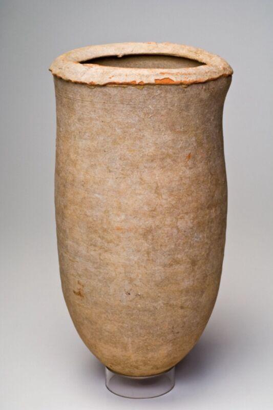 NEAR EAST ,  CA.  1250 - 950 B.C.  IRON AGE BEER JUG
