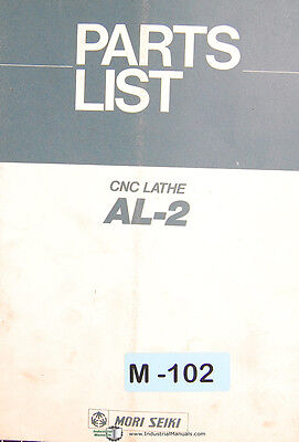 Mori Seiki Al-2 Cnc Lathe Parts List Manual