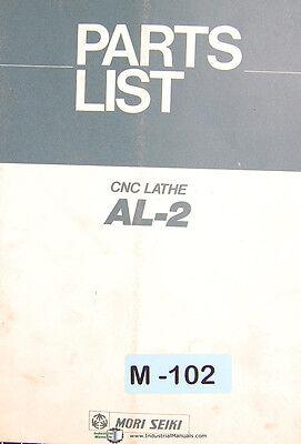Mori Seiki Al-2 Cnc Lathe Parts List Manual