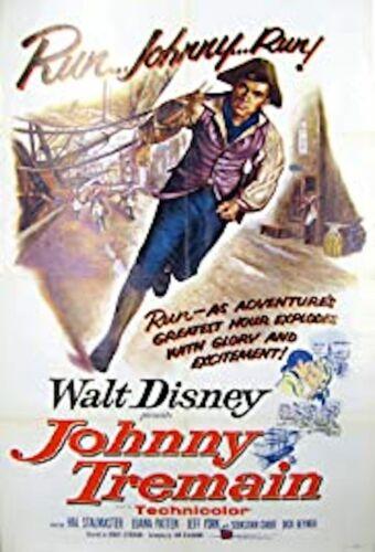 "16mm film Feature WALT DISNEY ""JOHNNY TREMAIN"""