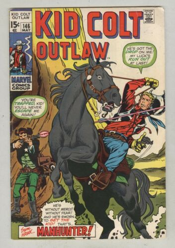 Kid Colt Outlaw #146 May 1970 VG