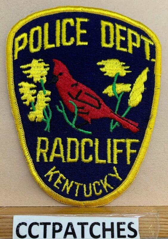 RADCLIFF, KENTUCKY POLICE SHOULDER PATCH KY
