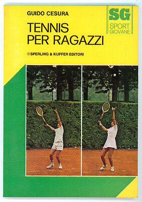 CESURA GUIDO TENNIS PER RAGAZZI SPERLING & KUPFER 1975 SPORT GIOVANE 2