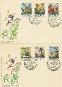 Poland FDC (Mi. 1364-69) Fairy tales #2 - <span itemprop='availableAtOrFrom'>Bystra Slaska, Polska</span> - Poland FDC (Mi. 1364-69) Fairy tales #2 - Bystra Slaska, Polska