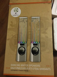 Music Fountain Dancing Speakers almost new