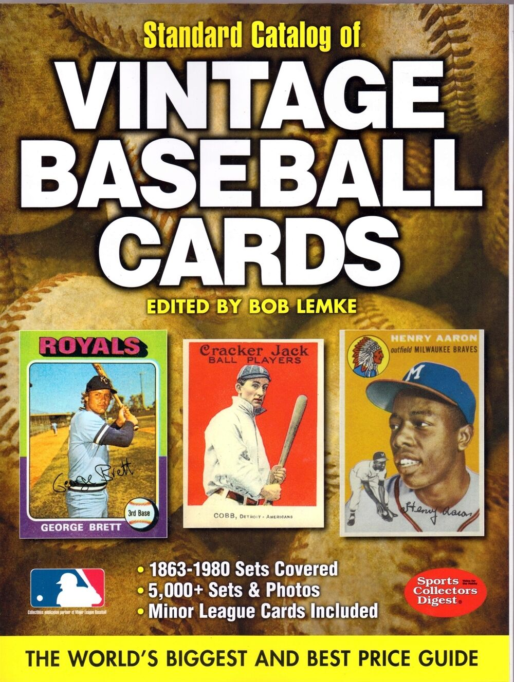 Standard Catalog Of Vintage Baseball Cards Brand With Free Shipping