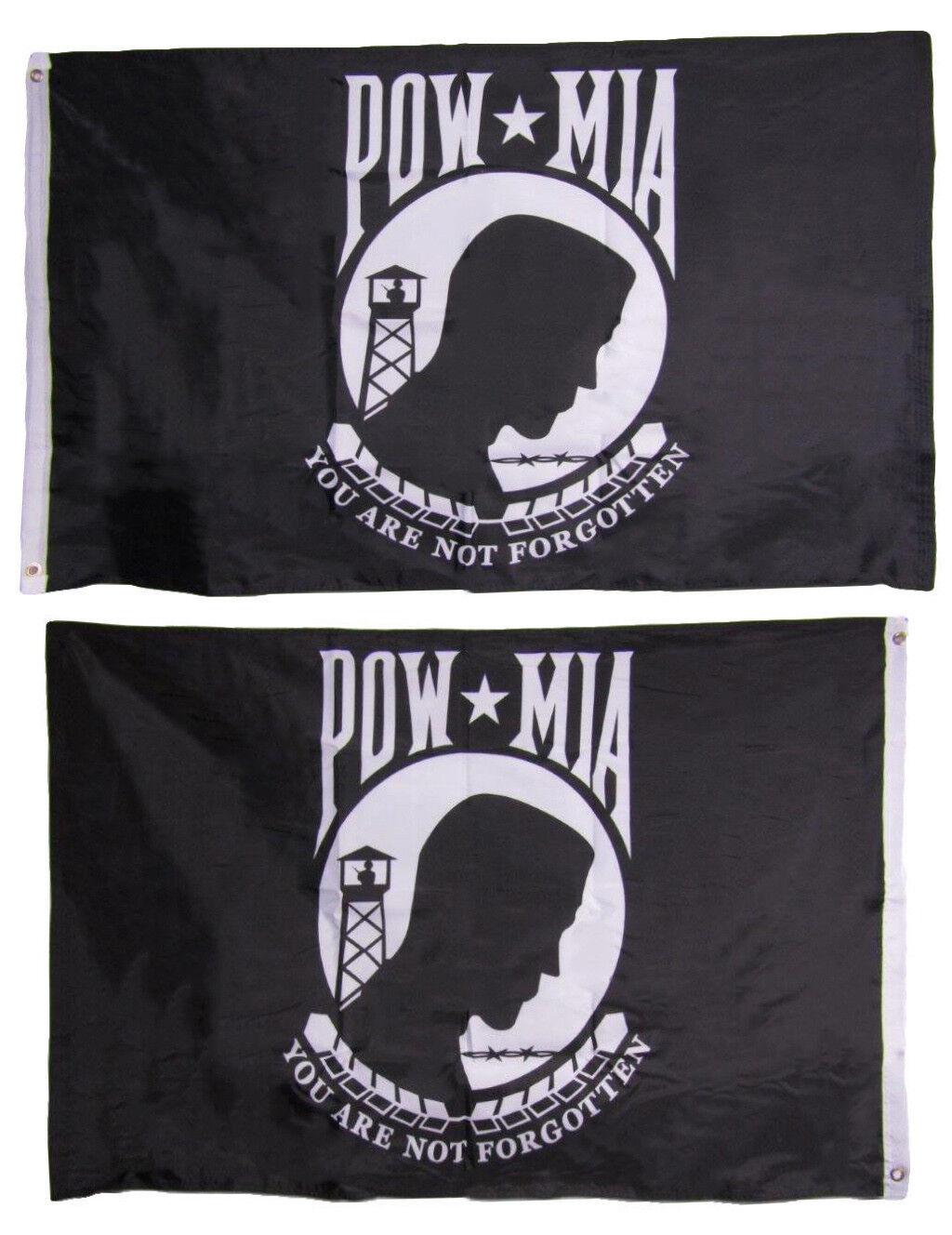 3x5 POW MIA Prisoner of War Heavy Duty Polyester Nylon 200D