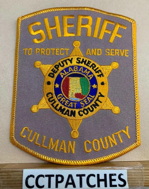 CULLMAN COUNTY, ALABAMA SHERIFF (POLICE) SHOULDER PATCH AL