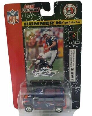 New England Patriots Diecast H2 Hummer Adam Vinatieri NFL
