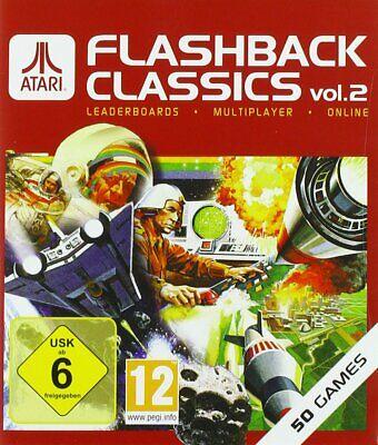 Xbox Uno Juego Atari Flashback Classics Vol. Volumen 2 Con 50 Jugar...
