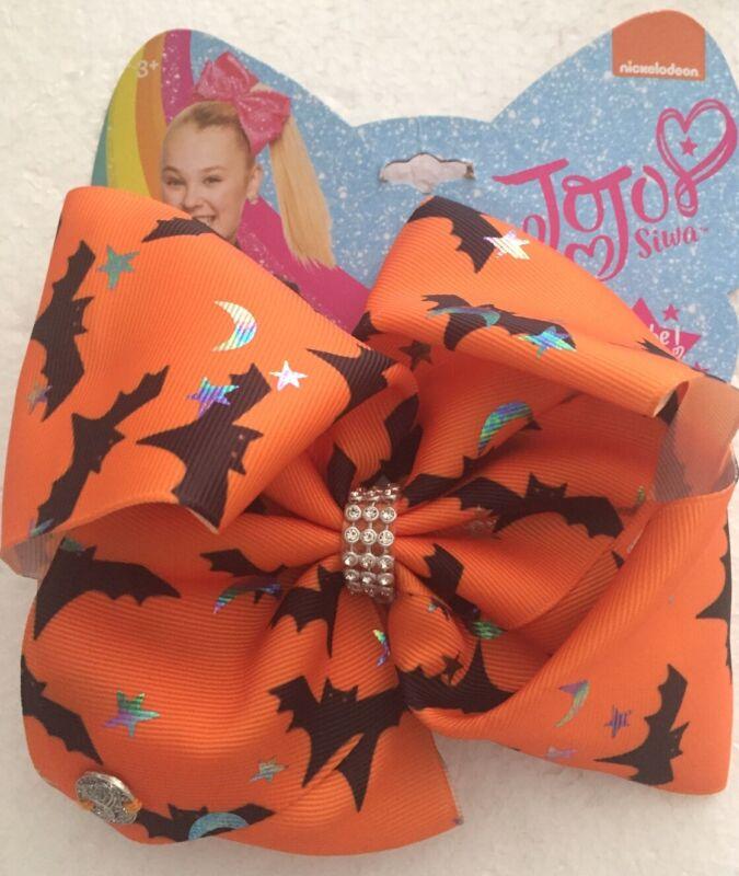 "Jojo Siwa Halloween Hair Bow. 6.5"""