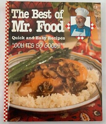 NEW - The Best of Mr. Food: QUICK & EASY Recipes, 2000 Dinners, Salads,