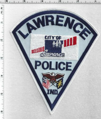 Lawrence Police (Indiana) 2nd Issue Shoulder Patch