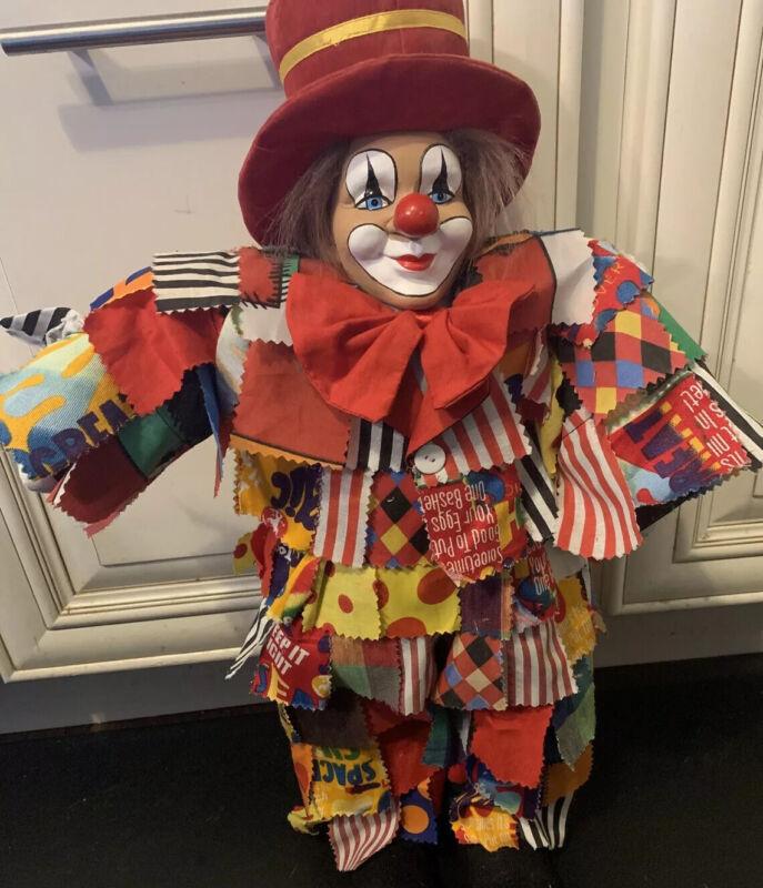 Vintage Dekorationsartikel Kein Spielzeug Clown